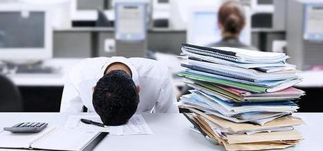 Are You an Overwhelmed Employee? New Research Says Yes. | Human Leadership | Scoop.it