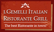 I.Gemelli Italian Ristorante Grill - Menu | Click4Corp | Scoop.it