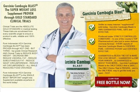 Interested In Garcinia Cambogia Blast?...Read Here First Before You Try It! | Weight Loss Garcinia Original Slim Blast | Scoop.it