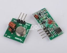 433Mhz RF transmitter and receiver kit for Arduino/ARM/WL MCU Raspberry pi new | Raspberry Pi | Scoop.it