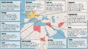 Syrian refugees: Which countries welcome them, which don't - Valley News Live   AP Human GeographyNRHS   Scoop.it