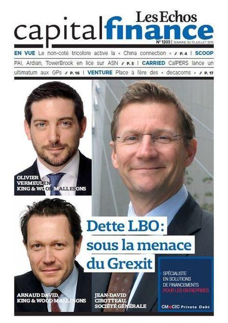 Dette LBO : Quand la crise grecque se mêle de la syndication | Venture Capitalists | Scoop.it