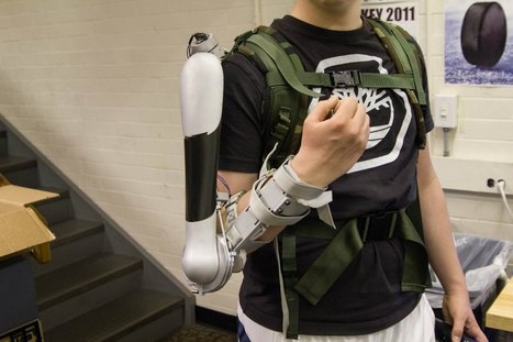 Using the BeagleBone to Control a Powerful Upper Body Exoskeleton | Raspberry Pi | Scoop.it