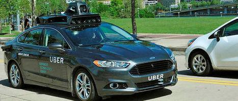 Uber : et maintenant, la voiture sans chauffeur ! | Think outside the Box | Scoop.it