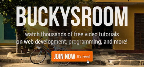 BuckysRoom - Free Educational Video Tutorials on Computer Programming, Web Design, Game Development and More! | Using the Web for Business | Scoop.it
