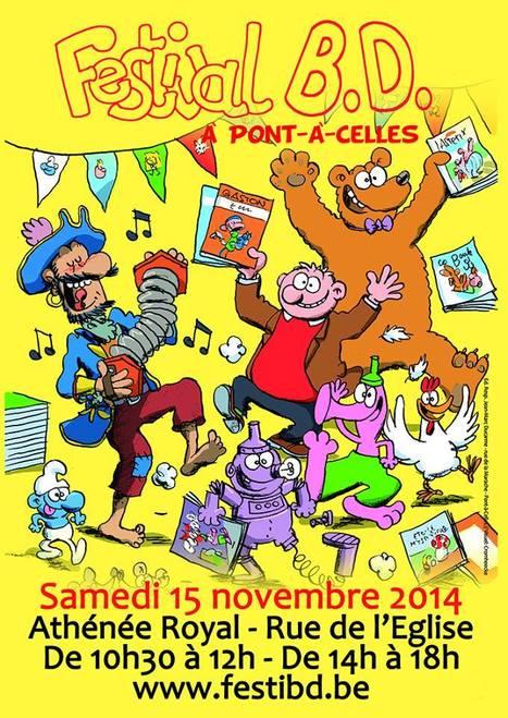 Télésambre : 6ème festival BD de Pont-à-Celles - Evénements | PAC dans la presse ... | Scoop.it