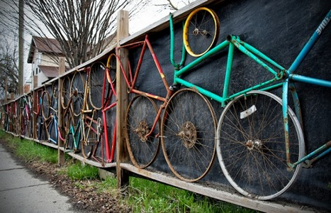 10 Awesome Fences Created From Recycled Sports Gear | DesignRulz | Interesting and Fascinating | Scoop.it