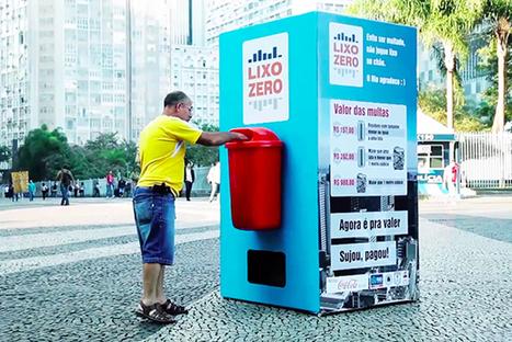 Une poubelle qui vous offre un Coca-Cola en échange d'un déchet !   Communication   Scoop.it