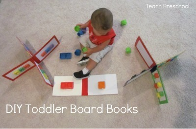 DIY toddler block board book | Teach Preschool | Scoop.it
