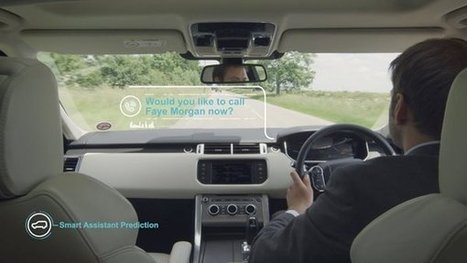 Jaguar Land Rover develops a self-learning car, the potential future of motoring | ciberpocket | Scoop.it