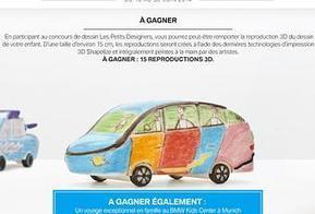BMW donne vie à des dessins d'enfants en impression 3D - Paperblog | Press review | Scoop.it