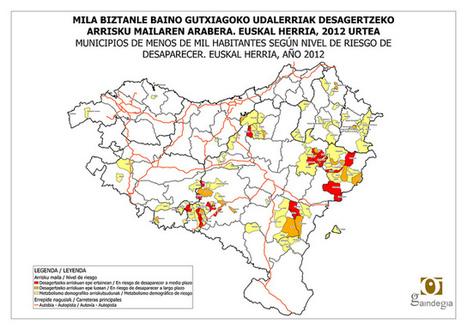 49 udalerri desagertzeko arriskuan Euskal Herrian - gaindegia - Sustatu - Interneteko albistegia   informática   Scoop.it