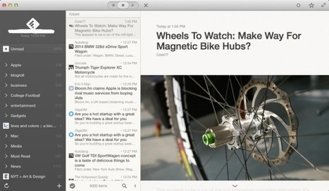 Reeder 2 For Mac Launches As A Free Public Beta | iPads in Education Daily | Scoop.it