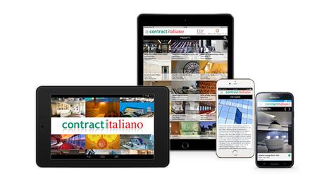 WOOI® realizza l'App per tablet e smartphone dedicata al Contract Italiano | WOOI Web Design | Scoop.it