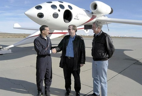 Book recounts how billionaires Paul Allen and Jeff Bezos helped start a space race | The NewSpace Daily | Scoop.it