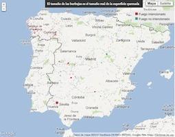 España en llamas - Una década de incendios forestales | Nuevas Geografías | Scoop.it