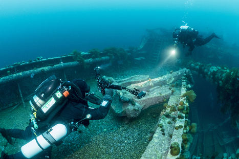 Mesmerizing Underwater Photos of WWII Shipwrecks Downed in Canada - Atlas Obscura | DiverSync | Scoop.it
