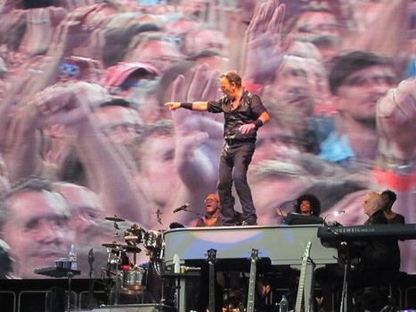 Bruce Springsteen - Paris, Stade de France, June 29, 2013 - Glenn Radecki | Bruce Springsteen | Scoop.it