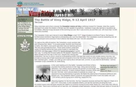 The Battle of Vimy Ridge | Soldiers | Scoop.it