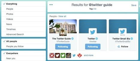 Uso de las búsquedas de Twitter | Bibliotecas y Educación Superior | Scoop.it