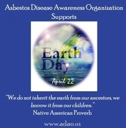 """ADAO Blog: """"Earth Day: History is a Great Teacher to Those Who Listen"""" 