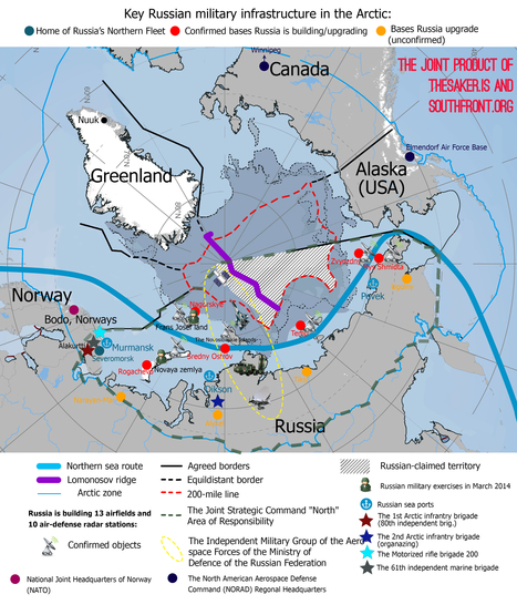 US-Russia Confrontation in the Arctic and the Battle for Oil. Russia's ... - Center for Research on Globalization | Sail and climb in the Arctic | Scoop.it