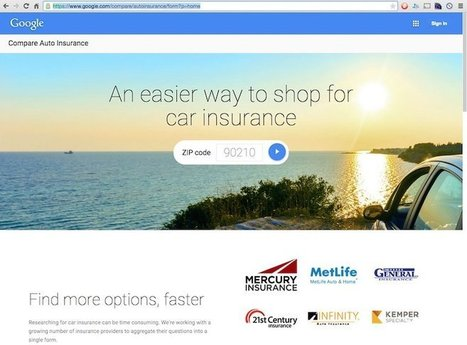 Google Launches Compare Auto Insurance Quote Tool | Google+ news | Scoop.it