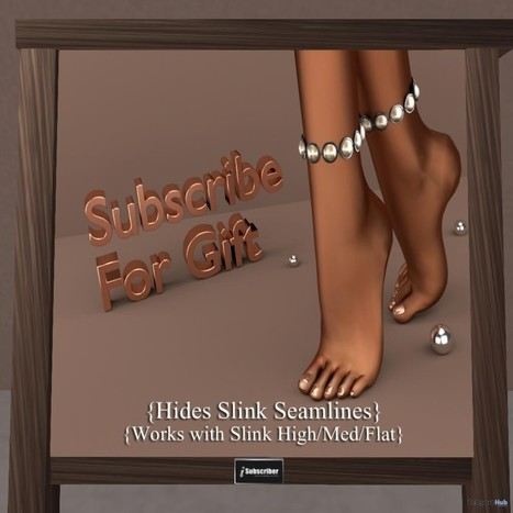 Leg Accessories For Hiding Slink Seamless Subscriber Gift by PROMAGIC | Teleport Hub - Second Life Freebies | Second Life Freebies | Scoop.it