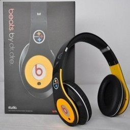 Beats By Dr.Dre Studio Pittsburgh Steelers Limited Edition On-Ear Headphones MB116 | limited edition beats by dre | Scoop.it