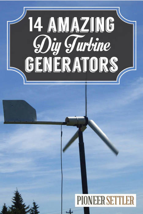 DIY Wind Turbine   The 14 Coolest Generators to Make for Living off The Grid   numerivrac   Scoop.it