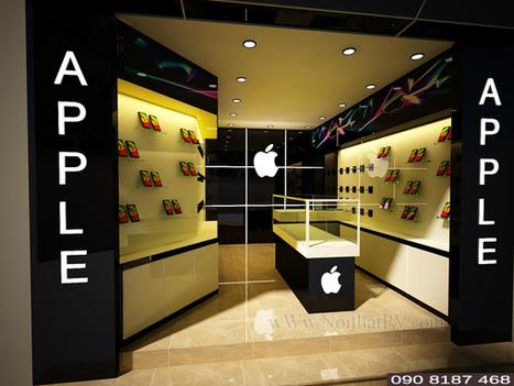 Thiết kế 3D cửa hàng điện thoại cho thương hiệu-Diễn đàn nội thất | Noithatmax.com | Scoop.it