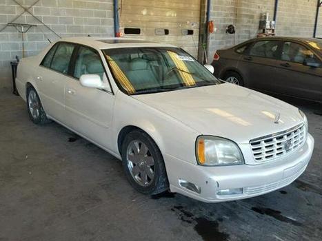 2003 white Cadillac Deville Dt on Sale in Cartersville, GA | Online Auto Sale | Scoop.it