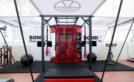 La startup du jour: Bonk, une installation sportive mobile et connectée | Technologie Au Quotidien | Scoop.it