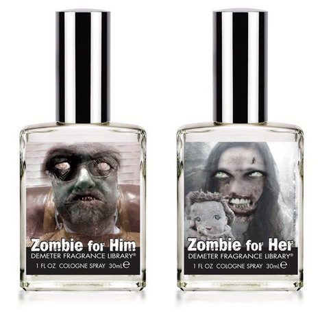 Zombie Perfumes: Smell Like the Undead | All Geeks | Scoop.it
