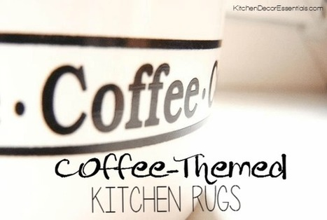 Coffee Themed Kitchen Rugs   Essentially Mom Favorites   Scoop.it