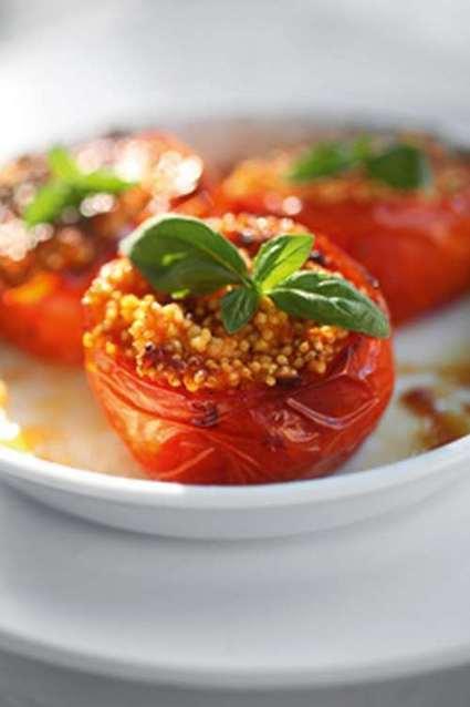 Non solo riso: 10 ricette di pomodori ripieni | Alimentazione Naturale, EcoRicette Veg e Vegan | Scoop.it