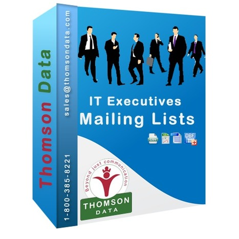 IT Decision Makers List - IT Executives Mailing List - IT Professionals | Thomson Dat | Technology Databases | Scoop.it