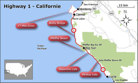 TOP 5 des arrêts sur la Highway 1 en Californie | AmeriKat | Scoop.it