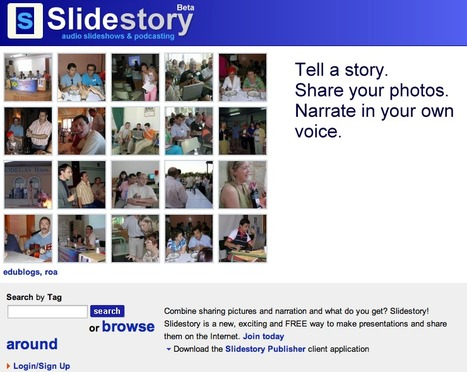 Slidestory - Share your photos, tell a story in your own voice | Animations, Videos, Images, Graphics and Fun | Scoop.it