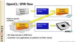 OpenCL SPIR by example - Blog - StreamComputing | opencl, opengl, webcl, webgl | Scoop.it