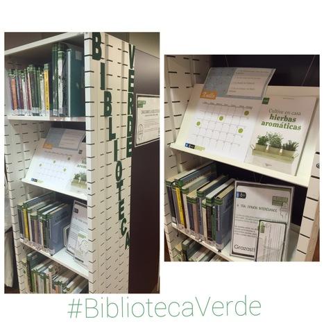 #BibliotecaVerde nas Bibliotecas Municipais da Coruña   Biblioteca Verde   Scoop.it