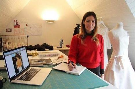 Formée chez Dior, Jeanne réalise des robes de mariée | Orientation Arts Appliqués | Scoop.it