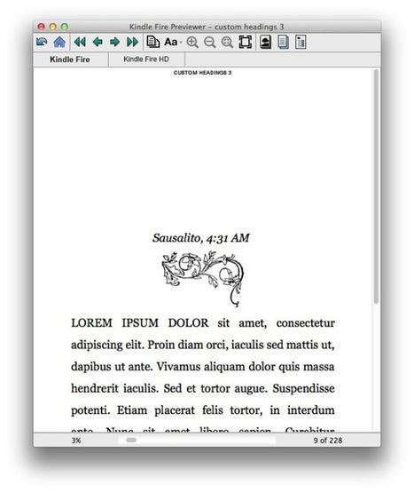 3 Minutes to Better Scrivener Chapter Headings   Scrivener   Scoop.it