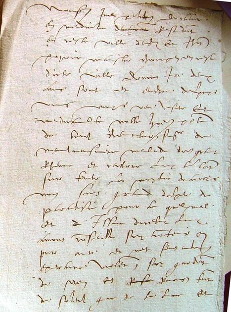 MODES de VIE aux 16e, 17e siècles » Archive du blog » Certificat médical exemptant le chevalier Du Breil du devoir militaire, Angers 1558 | blog de Jobris | Scoop.it
