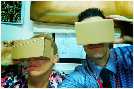 10 Simple Ways To Use Google Cardboard In The Classroom. | Tech Education k-12 | Scoop.it