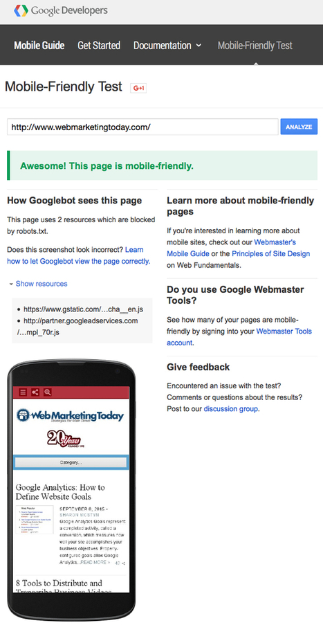 Mobile SEO: How to Ensure Your Site is Mobile-friendly | The New Mobile SEO Strategy | Scoop.it