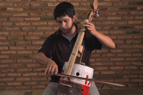 The Landfill Harmonic: These Kids Play Classical Music With Instruments Made ... - TakePart | Music Instruments | Scoop.it