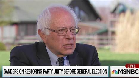 Sanders condemns disruptions, ok with protests at Clinton events | AUSTERITY & OPPRESSION SUPPORTERS  VS THE PROGRESSION Of The REST OF US | Scoop.it