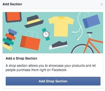 How to Set Up a Shop Section on Your Facebook Page : Social Media Examiner | Internet Presence | Scoop.it