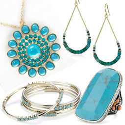 Trendy Turquoise: 27 Summer Jewelry Picks | Ladies Community | Scoop.it